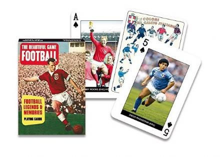 Football Legends Playing Cards